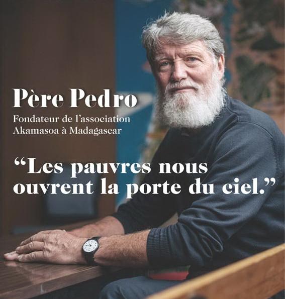 Le VATICAN salue l'oeuvre du Père Pédro